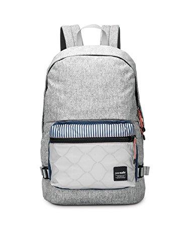 Pacsafe Slingsafe LX400Diebstahlschutz Rucksack mit abnehmbarer Tasche, chili red (rot) - 688334026042 Tweed Grey