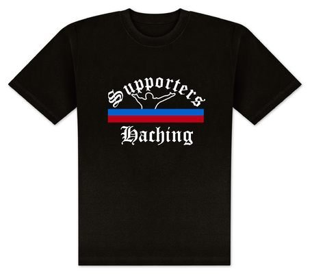 World of Football T-Shirt Supporters-Haching - M