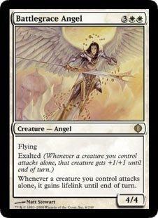 Magic: the Gathering - Battlegrace Angel - Shards of Alara by Magic: the Gathering