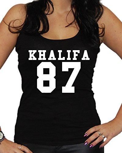 Khalifa 87 Tanktop (S, Schwarz) (Star Wars Dance Kostüme)