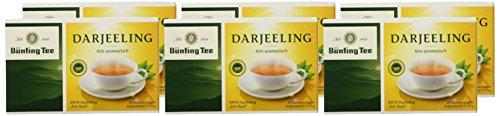 Bünting Tee Darjeeling 20 x 1.75 g Beutel, 6er Pack (6 x 35 g)