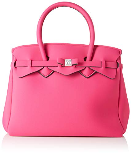 Save My Bag Damen Miss Plus Schultertasche, Pink (Beach Party BEP), 34x29x18 cm (Birkin Bag)