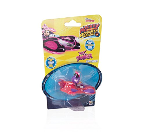 Mickey Mouse Mini Vehículos: Minnie's Supercharged Pink Thunder (IMC Toys 183773)