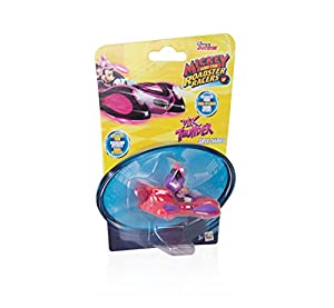 IMC Toys- Minnie Mouse Mini Vehículos: Figurina Pink Thunder, Color Rosa y Morado (183773)