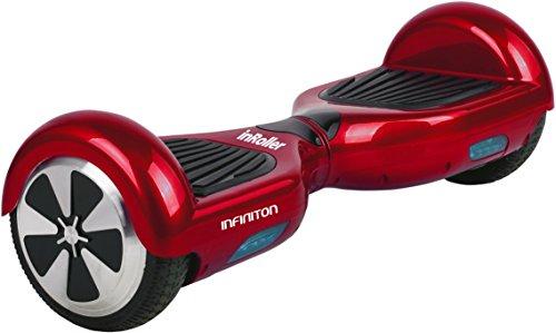 "Infiniton InRoller 2.0 Patinete Eléctrico Hoverboard 6"" - Rojo"