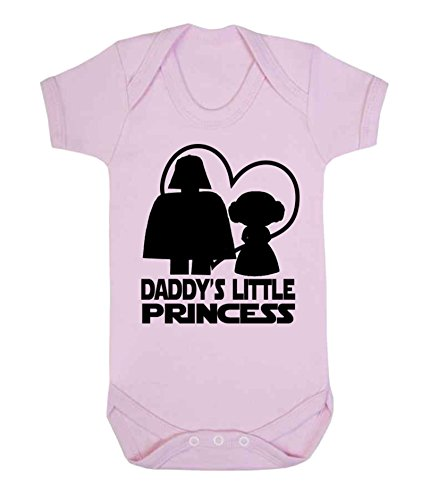 Daddy 's Little Princess Star Wars bebé chaleco para niño Babygrow M