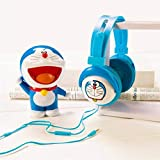 Toy4Pick Cartoon Doraemon Headphones Bests Audifonos Gamer Mic Headset Stereo Head Phones For IPhone Samsung Xiaomi HTC