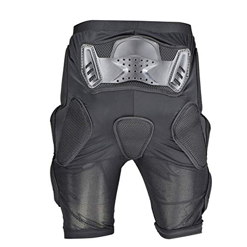 WJH Motorrad Protective Armor Pants, Heavy Duty Körperschutz Pads Schutz für die Hüften Beine Motocross Racing Gear Bike Radfahren, passt für Männer und Frauen,M (Frauen Gear Motocross)