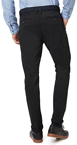 Tom Tailor -  Pantaloni  - Uomo Nero