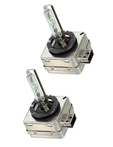 D3S Hid Xenon Brenner Scheinwerferlampe -6000K 35W Ersatzlicht -2 Yrs Garantie 2 Stück