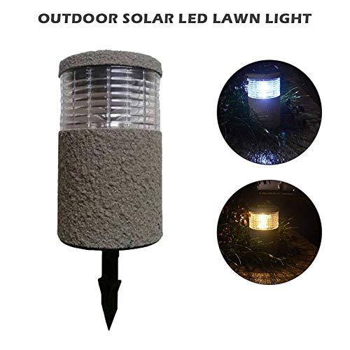 whelsara luce solare per prato inglese all'aperto luce solare a led per coprire la luce del laminatore di sabbia per prato inglese