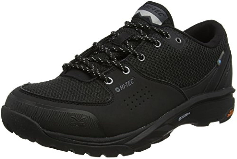 Hi-Tec - V-lite Wild-life Low I Waterproof, Zapatillas de senderismo Hombre, Negro (Black/cool Grey), 41 EU  -