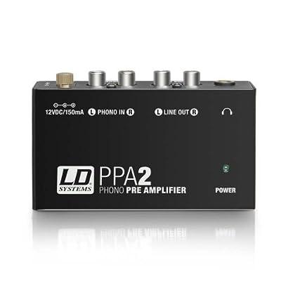LD SystemsPPA2Préamplificateur phono avec correction RIAA pour platine par Ld systems