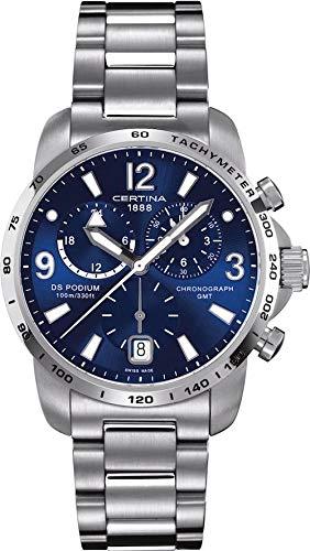 Certina Herren-Armbanduhr XL Chronograph Quarz Edelstahl C001.639.11.047.00