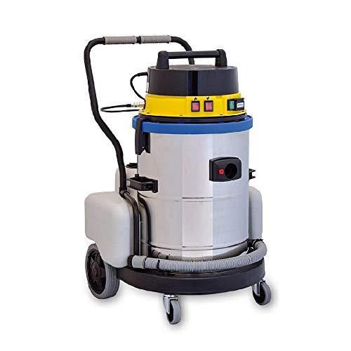 EOLO MOTOR VAPOR LP09 système de nettoyage professionnel multifonctions. Aspire et lave à eau froide, fourni avec n.11 accessoires permettants un nettoyage rapide et efficace de tous types de surfaces.