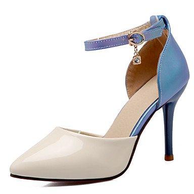 Zormey Frauen Schuhe Aus Lackleder/Stiletto Heel/D'Orsay & Amp Zweiteilige/Schuhe Heels Party & Amp Abend-/Kleid Blau US5.5 / EU36 / UK3.5 / CN35