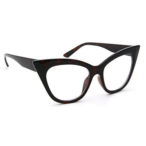 Kiss Brillen in neutralen CAT EYE mod. THICK NIKITA - optischen rahmen FRAU vintage rockabilly - HAVANNA