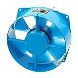 200 mm, telaio in metallo, in plastica a segmenti oscillanti Ventola assiale 65W AC 220 V 330 CFM