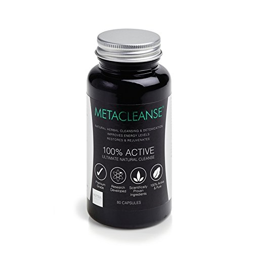 Metacleanse Detox Supplement 80 Capsules, a revolutionary new detox system - the perfect way to kick start a weight loss programme (80 Capsules)