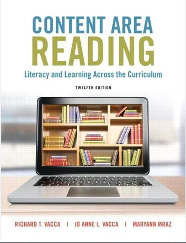 Content Area Reading: Literacy and Learning Across the Curriculum PDF Books