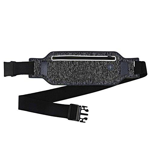 Leking 4.0-6.0 Zoll Laufgürteltasche für Sport, Tasche für den Außenbereich Atmungsaktiv in Wasser Schwarz