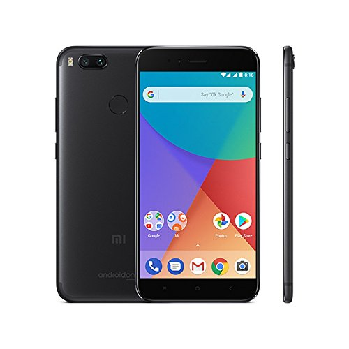 Xiaomi MI A1 5.5 Pulgada Smartphone 4G (4GB + 64GB 12 MP Qualcomm Snapdragon 625 3080 mAh) (Negro)