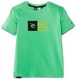 Rip Curl Boy's Ripawatu Short Sleeve T-Shirt, Green (Irish Green), 10 Years