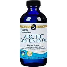 Aceite de hígado de bacalao ártico, 8 fl oz (237 ml) - Naturals nórdicos