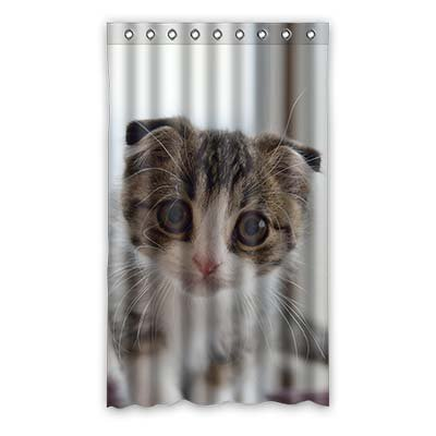 Dalliy gatto le tende tenda della finestra poliestere window curtain 50