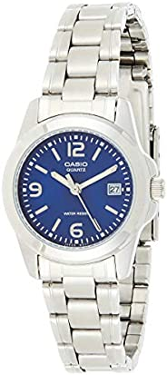Casio Women's Stainless Steel Analog W