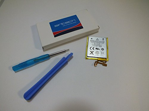 Sintech.DE Limited Batterie mit Werkzeug passend für iPod Nano 7G Ipod Nano Akku
