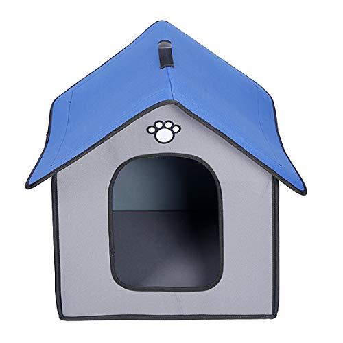 Zhyaj Casa Perro Grande Caseta Perros Exterior A Prueba