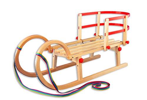 Erst-Holz , Accessori per Slitta:con Schienale