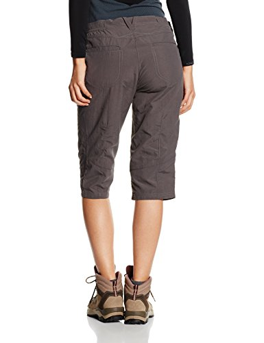 Jack Wolfskin Damen Hose Atacama 3/4 Pants Women Dark Steel_1036