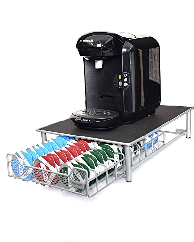 Ever RichTassimo Kaffeepad-Halter,stapelbarer Halter für 60 Kapseln,rutschfeste Oberfläche,...