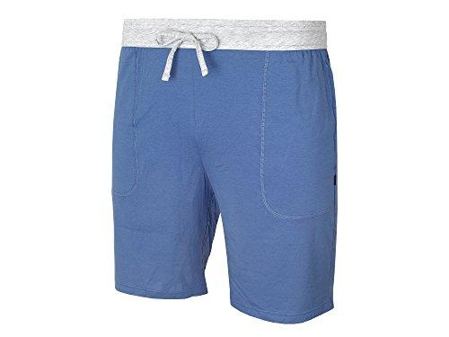 BOSS Hugo Boss Herren Schlafanzughose Jogginghose Jersey Short Pant CW 423 Medium Blue
