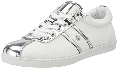 Bogner Newcastle Lady 1a, Sneakers basses femme Weiß (White/Silver)