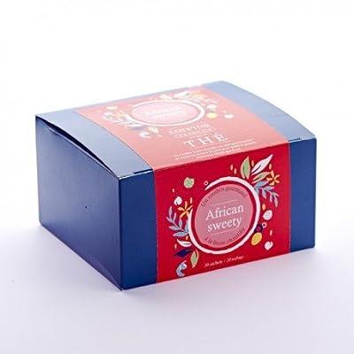 Rooibos African Sweety fraise Boite de 20 sachets