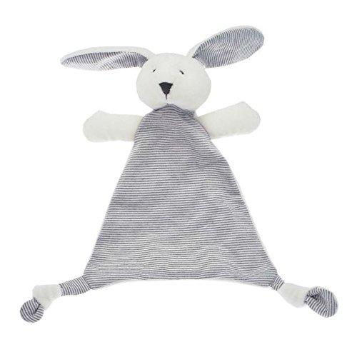 Walton-Baby - Bunny Softee Klein - Baby Sicherheits-Decke - Weiß