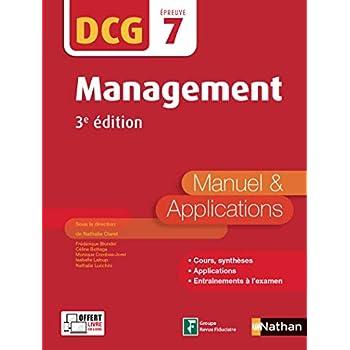 Management - DCG 7 - Manuel et applications