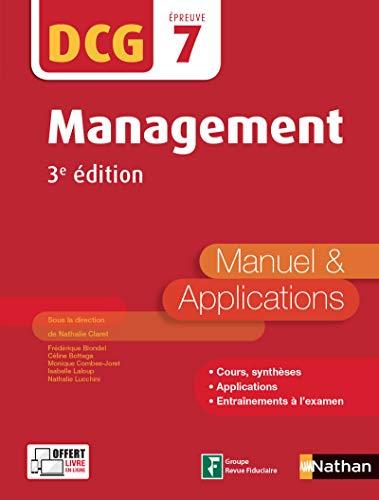 Management - DCG 7 - Manuel et applications PDF Books