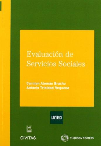Evaluación de Servicios Sociales (Tratados y Manuales de Economía) por Carmen Alemán Bracho