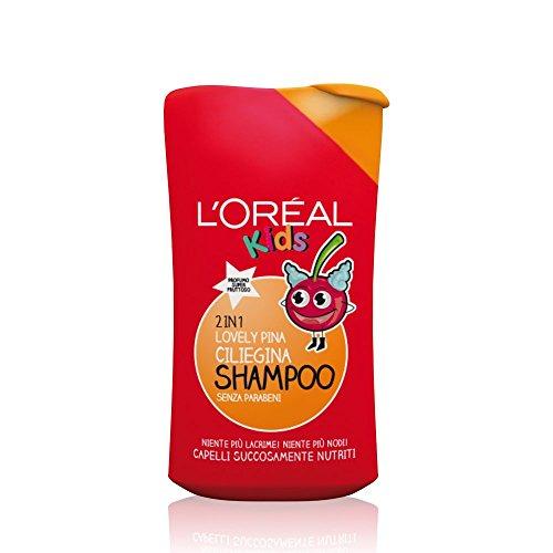Elvive Paris Kids Tango Super Mango Shampoo 2 in 1, senza Parabeni - 250 ml