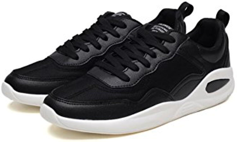 Sneaker XUEQIN Junior Sommerschuhe Breathable beiläufige Laufschuhe Mesh Schuhe (Farbe : Schwarz  größe : EU40