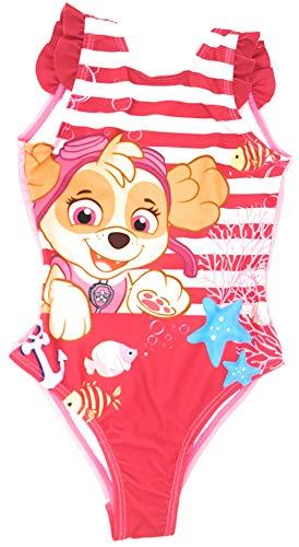 Paw-Patrol Mädchen Badeanzug (Pink, 3 Jahre (Herstellergröße 98))