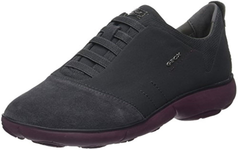 Geox Damen D Nebula G Low-Top Sneakers verbinden Modernes Design mit maximalem Tragekomfort