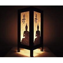 lampe de chevet asiatique. Black Bedroom Furniture Sets. Home Design Ideas