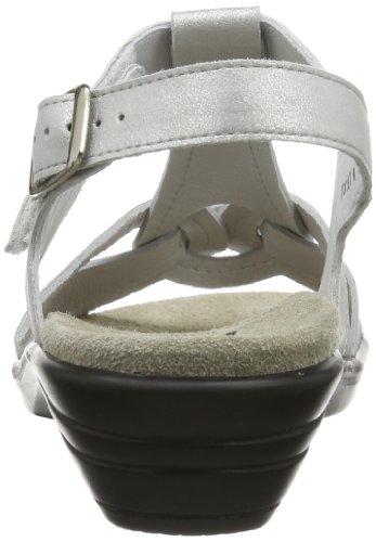 Semler Ute U4015-018-016 Damen Sandalen Silber (016 - silber)