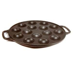 Poffertjespfanne Pfanne aus Gusseisen Eisen Poffertjes