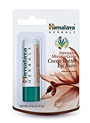 Himalaya Herbal Intensive Healthcare Moisturizing Cocoa Butter Lip Balm, 0.16 Ounce